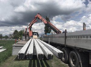 Залізобетонні опори ЛЕП Одеса